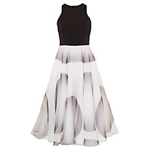 Buy Coast Petite Fabiola Spot Dress, Black/White Online at johnlewis.com