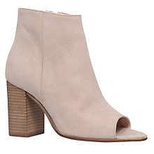 Buy Carvela Accord Peep Toe Ankle Boots Online at johnlewis.com