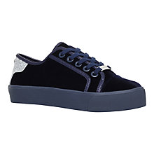 Buy Carvela Lazer Flatform Trainers, Navy Online at johnlewis.com