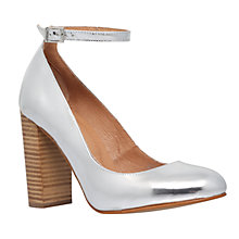 Buy Carvela Adonis Block Heeled Court Shoes Online at johnlewis.com