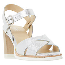 Buy Dune Judo Block Heeled Sandals Online at johnlewis.com