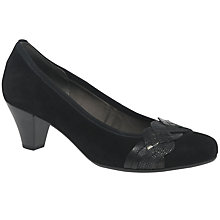 Buy Gabor Kiss Block Heeled Court Shoes Online at johnlewis.com