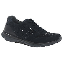 Buy Gabor Nestor Extra Wide Lace Up Trainers Online at johnlewis.com