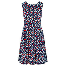 Buy Sugarhill Boutique Hatty Fruit Floral Dress, Navy/Red Online at johnlewis.com