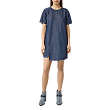 Buy AllSaints Mira Denim Dress, Indigo Blue Online at johnlewis.com
