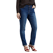 Buy Violeta by Mango Slim Gem Jeans, Open Blue Online at johnlewis.com