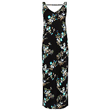 Buy Warehouse Floral Column Midi Dress, Multi Online at johnlewis.com