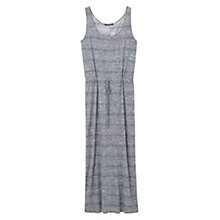 Buy Violeta by Mango Long Flecked Dress, Navy Online at johnlewis.com