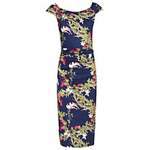 Buy Jolie Moi Floral Ruched 40s Dress Online at johnlewis.com