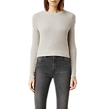 Buy AllSaints Ria Cropped Jumper Online at johnlewis.com