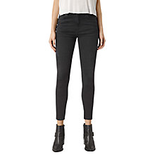 Buy AllSaints Nim High Waisted Crop Jeans Online at johnlewis.com