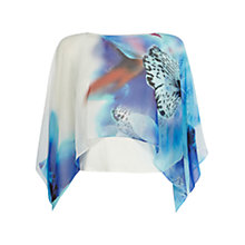 Buy Coast Bali Printed Top, Multi Online at johnlewis.com