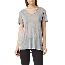 Buy AllSaints Ines T-Shirt Online at johnlewis.com