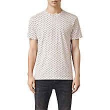 Buy AllSAints Motif Floral Crew Neck T-Shirt Online at johnlewis.com
