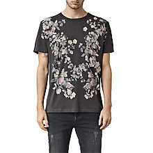 Buy AllSaints Posie Short Sleeve Crew T-shirt Online at johnlewis.com