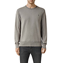 Buy AllSaints Klose Crew Cotton Jumper Online at johnlewis.com