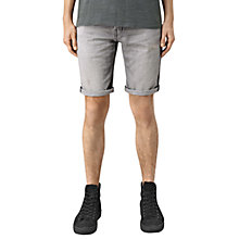 Buy AllSaints Barham Switch Denim Shorts, Grey Online at johnlewis.com