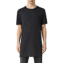 Buy AllSaints Sour Short Sleeve T-Shirt, Washed Black Online at johnlewis.com