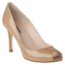 Buy L.K. Bennett Olympia Peep Toe Stiletto Court Shoes, Nude Online at johnlewis.com