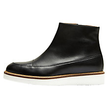 Buy Selected Femme Sierra Ankle Boots, Black Online at johnlewis.com