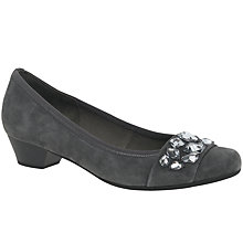 Buy Gabor Twang Embellished Court Shoes Online at johnlewis.com