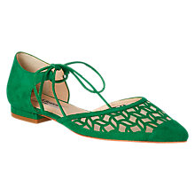 Buy L.K. Bennett Mikaila Two Part Ballerina Pumps Online at johnlewis.com