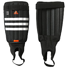 Buy Adidas Football Evertomic Shin Guards, Black/White/Red Online at johnlewis.com