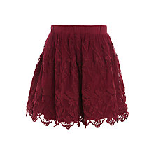 Buy John Lewis Girls' Lace Skirt Online at johnlewis.com