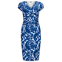 Buy Phase Eight Paisley Dress, Blue/White Online at johnlewis.com