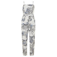 Buy Mint Velvet Laila Print Jumpsuit, Multi Online at johnlewis.com
