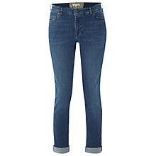 Buy White Stuff Minny Selvedge Jeans, Athic Dark Online at johnlewis.com