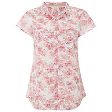 Buy White Stuff Seeking Shirt, White Online at johnlewis.com