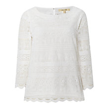 Buy White Stuff Unconditional Top, White Online at johnlewis.com