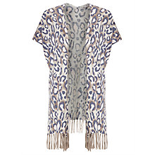 Buy Gerry Weber Animal Print Cardigan, Multi Online at johnlewis.com