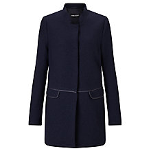Buy Gerry Weber Wool Cocoon Coat, Indigo Online at johnlewis.com