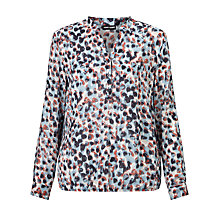 Buy Gerry Weber Elastic Hem Print Top, Multi Online at johnlewis.com