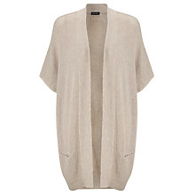 Buy Gerry Weber Longline Wool-Blend Cardigan, Pebble Online at johnlewis.com