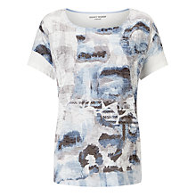 Buy Gerry Weber Printed T-Shirt, Multi Online at johnlewis.com