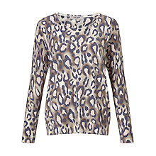 Buy Gerry Weber Animal Print Jumper, Multi Online at johnlewis.com