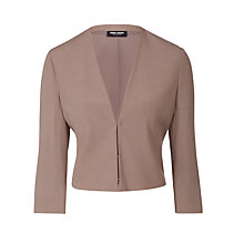 Buy Gerry Weber 3/4 Sleeve Jacket, Mud Online at johnlewis.com