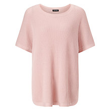 Buy Gerry Weber Knitted Poncho, Rose Online at johnlewis.com
