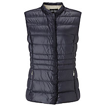 Buy Gerry Weber Down Filled Gilet, Indigo Online at johnlewis.com