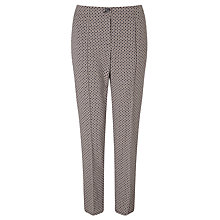 Buy Gerry Weber Printed Trousers, Indigo/Stone Online at johnlewis.com
