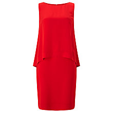 Buy Bruce by Bruce Oldfield Double Layer Dress, Red Online at johnlewis.com