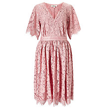 Buy Somerset by Alice Temperley Bold Lace Dress, Rose Online at johnlewis.com