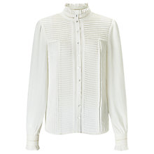 Buy Somerset by Alice Temperley Pintuck Blouse Online at johnlewis.com