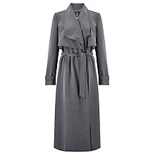 Buy Bruce by Bruce Oldfield 73 NYC Twill Trench Coat, Grey Online at johnlewis.com