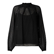 Buy Somerset by Alice Temperley Cut Out Chevron Blouse Online at johnlewis.com