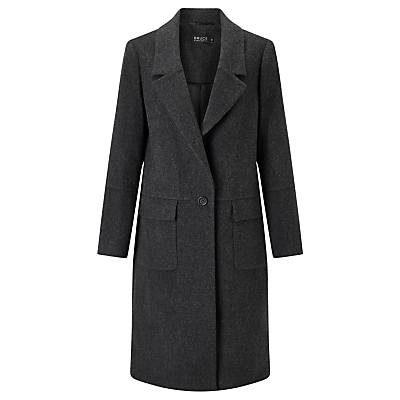 Bruce by Bruce Oldfield 73 NYC Flannel Coat, Charcoal