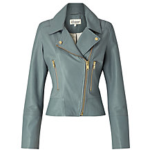Buy Somerset by Alice Temperley Leather Biker Jacket Online at johnlewis.com